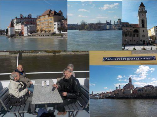 Fotocollage Männerkreis in Passau