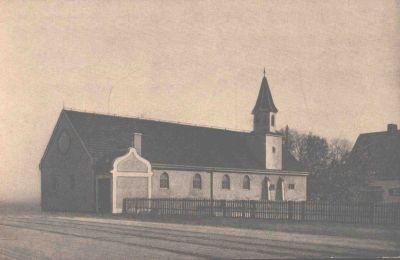Interim, erste evangl. Kirche Laim