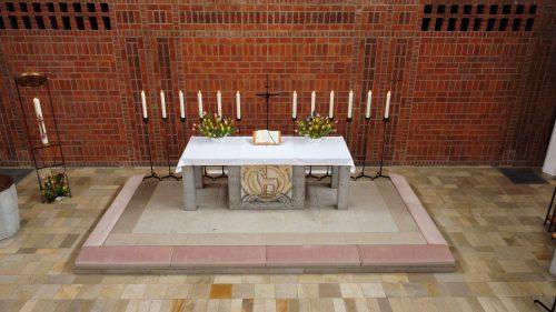Altar in der Kirche