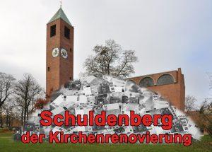 Schuldenberg der Kirchenrenovierung